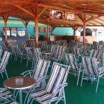 Kafić kod gusarskog broda