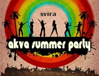 AKVA SUMMER PARTY-petak 3.avgusta 2016
