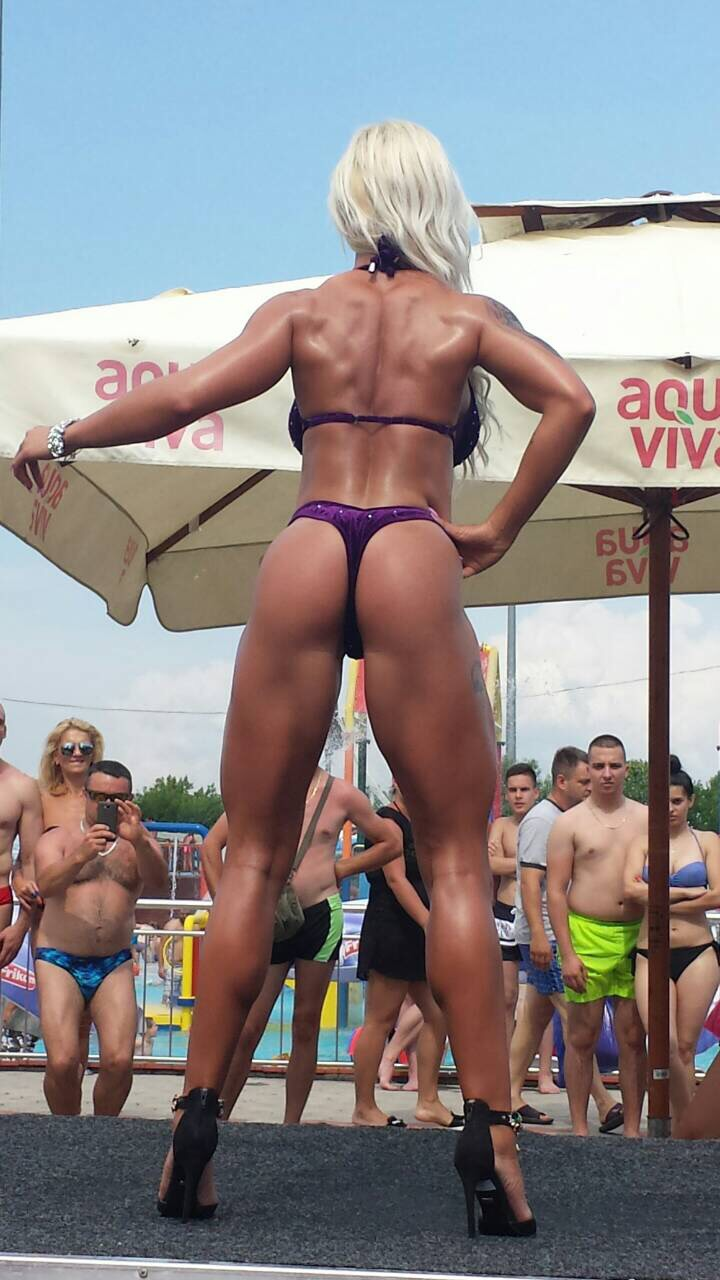 Miss bikini fitness Dalila Jusić Sarajevo BIH-1