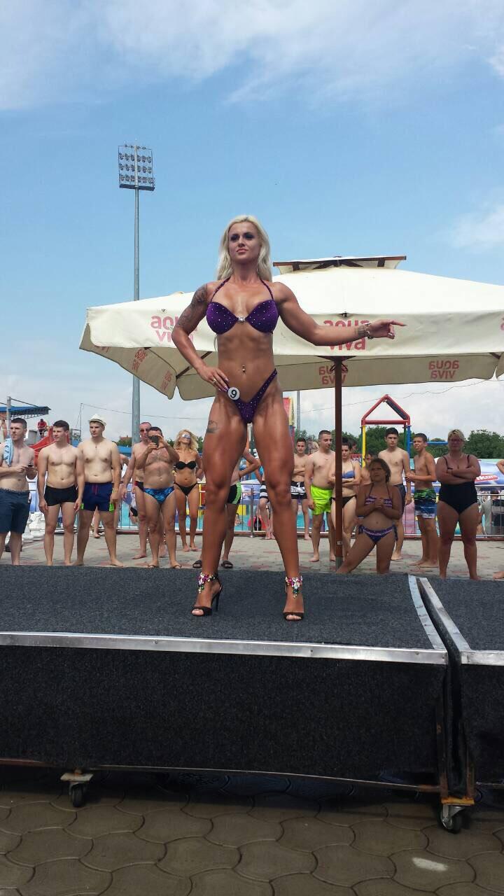 Miss bikini fitness Dalila Jusić Sarajevo BIH